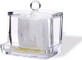 Kozmetický organizér na vatové tampóny Compactor