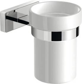 Olymp 1321-04 pohár keramický, chróm