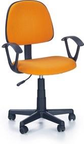 Halmar Detská stolička Darian - oranžová