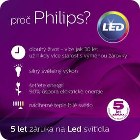 LED vonkajšie bodové svietidlo Philips 1x3W