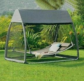 Záhradné relaxačné lehátko s ochr.sieťou AVENBERG Paradiso