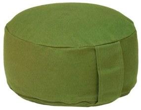 Bodhi Yoga Bodhi Meditačný vankúš RONDO BASIC 28x17 cm náplň špalda Farba: Zelená (olivová)