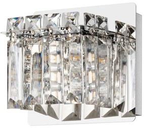 Eglo Eglo 98597 - LED Krištáľové nástenné svietidlo FUERTESCUSA 1xG9/3W/230V EG98597