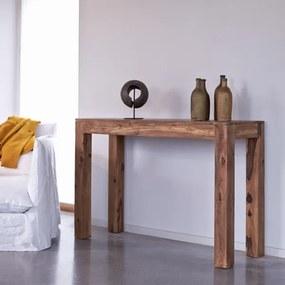 Konzolový stolík Gani 110x40x76 indický masív palisander Super natural