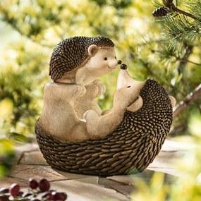 Dekoračná figúrka Láska ježkov 1