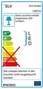 Závesné svietidlo SLV I-PENDANT PRO LED PANEL 158723