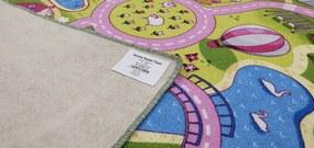 Associated Weavers koberce Dětský kusový koberec silnice Sweet Town - 160x230 cm