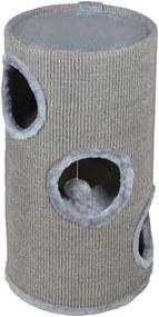 Malatec Mačacie škrabadlo, veža 70x36 cm, farba šedá, 2794