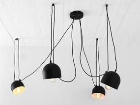 POPO 4 lampa, Farba čierna
