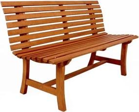 Záhradná lavica z eukalyptového dreva ADDU Moreno