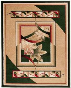 Kusový koberec PP Foglio zelený, Velikosti 140x200cm