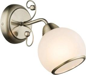 Globo COMODORO I 54713W Nástenné Lampy antická meď 1 x E14 max. 40w 23 x 13 x 13 cm