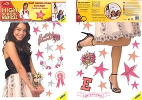 Samolepiace dekorácia na stenu High School Musical 3 Gabriela