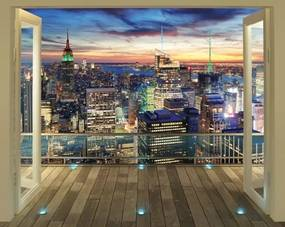 New York 3D tapeta Walltastic