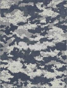 Koberec ZERMATT 01 modrý - 160x220 cm