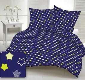 Dětské povlečení Hviezdy 120x60