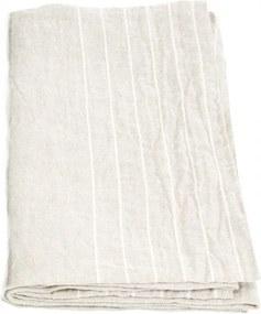 Osuška Kaste 95x180, ľan-biela Lapuan Kankurit
