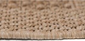 Kusový koberec Double hnedý, Velikosti 120x170cm