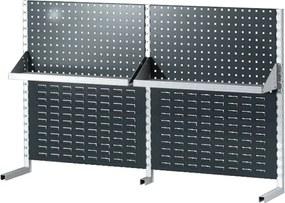 Nadstavba nad stôl 1500 mm, na náradie a plastové boxy, s policou