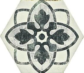 Dlažba Ragno Eden bianco tappeto 1 21x18,2 cm mat ERF8N