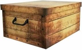 Compactor Skladacia úložná krabica Country, 50 x 40 x  25 cm