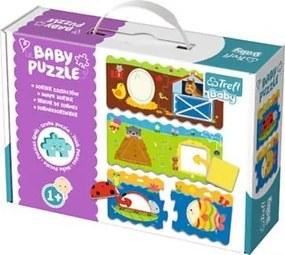 TREFL Baby puzzle Tvary