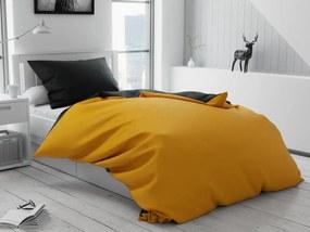 Bavlnené obliečky DUO žlté