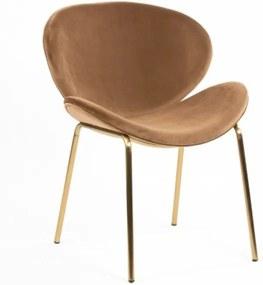 Dublino Home ROSE TAUPE čalúnená stolička