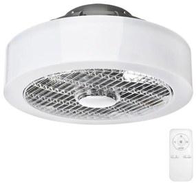 Milagro LED Stmievateľné stropné svietidlo s ventilátorom LED/45W/230V MI0832