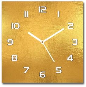 Sklenené hodiny štvorec Bylinky fólie pozadia pl_zsk_30x30_f_123223557