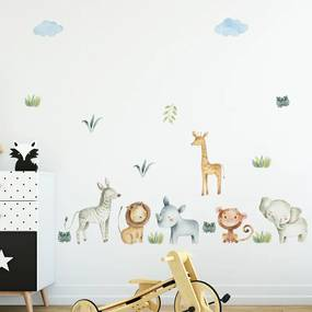 Samolepka na stenu