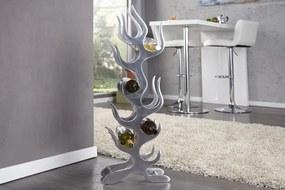 Stojan na víno hliníkový BRESSAY - strieborná