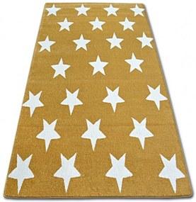 Kusový koberec Stars žltý, Velikosti 200x290cm