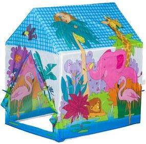 EcoToys Detský stan na hranie ZOO, 8182