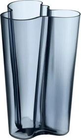 Váza Alvar Aalto 251mm, modrá rain Iittala