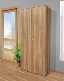 Nabytekmorava Poluciová skriňa do spálne Alfa 11 farba lamina: breza 1715