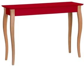 RAGABA Lillo konzolový stôl široký, červená