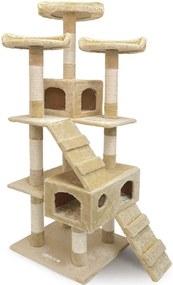 Jurhan & Co.KG Germany Mačací strom na lezenie 175 cm béžový