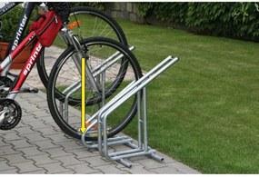 Kombinovateľný stojan na bicykle, nízky