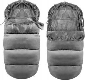 Detský fusak Ice šedý