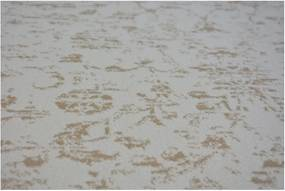 Luxusný kusový koberec akryl Kemik krémový, Velikosti 80x150cm
