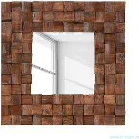 (1359) BAGANI - Teakové zrkadlo