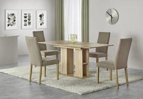 Jedálenský stôl rozkladací KORNEL dub sonoma Halmar
