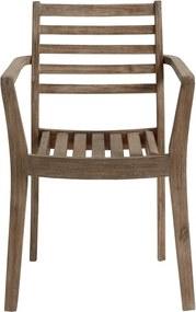 Zahradní židle LaForma Berkeley, hnědá C873M43 LaForma