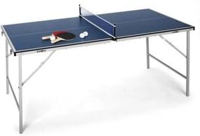 Klarfit King Pong, ping-pongový stôl, sklápací, modrý