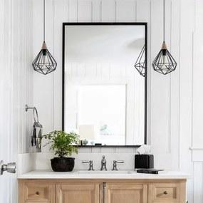 Zrkadlo Estee 70x100cm čierne z-estee-70x100cm-2450 zrcadla