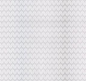 Vliesové tapety, biele lístky na svetlom fialovo-modrém podklade, Guido Maria Kretschmer 1336320, P+S International, rozmer 10,05 m x 0,53 m