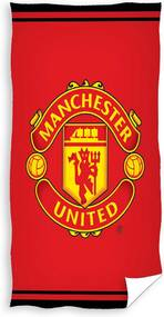 Carbotex Detský uteráčik Manchester United logo froté 40/60 cm