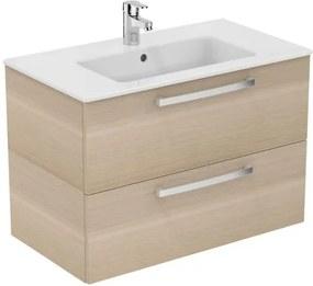 Kúpeľňová skrinka pod umývadlo Ideal Standard Tempo 80x44 cm dub pieskový E3242OS