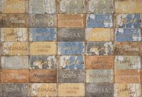 Dlažba Cir Havana cuba libre mix 10x20 cm mat HAV12CLM